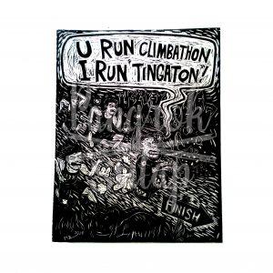 U Run Climbathon, I Run Tingaton!